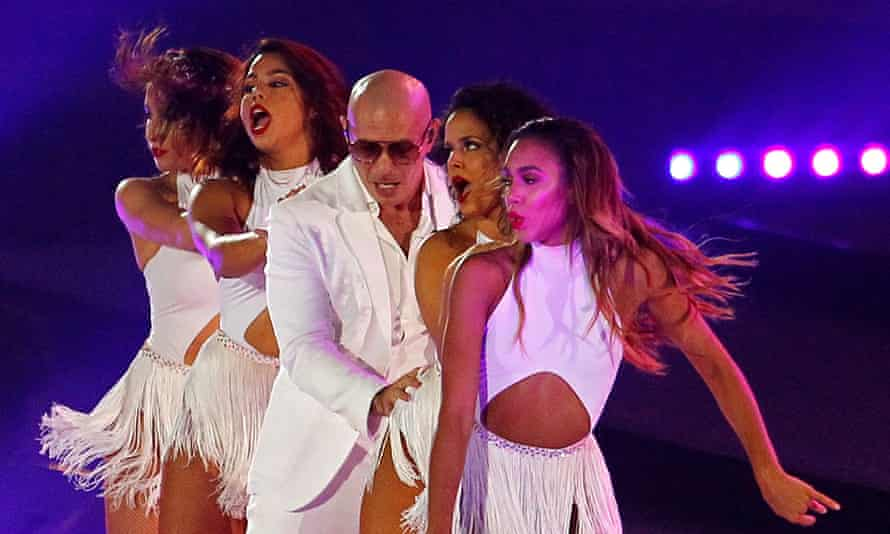 Pitbull is the man in charge of the EDM/rap congo line of pain