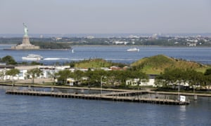 governors island in the distance