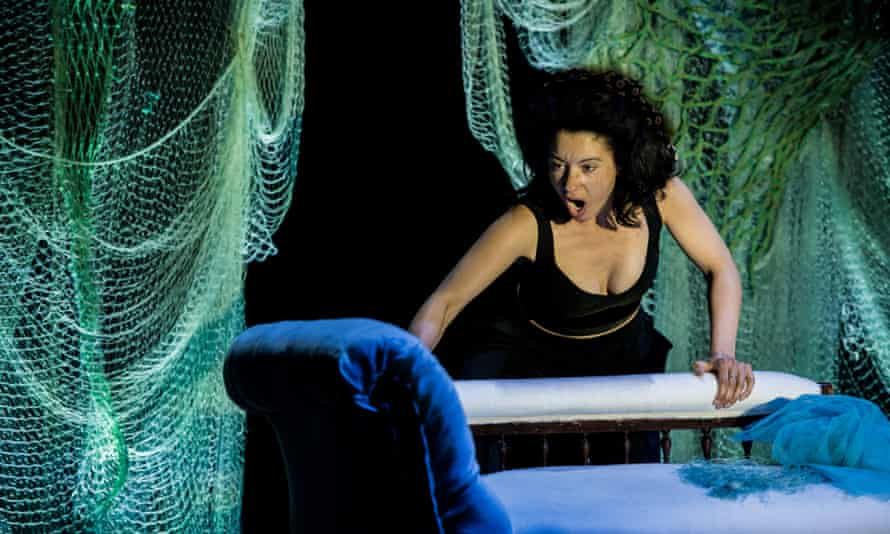 Rich-toned ... Isabelle Peters as Dido and Anna in Dido's Ghost at Buxton international festival.