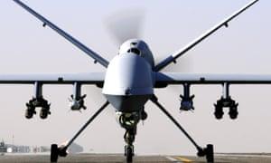 An RAF Reaper UAV drone