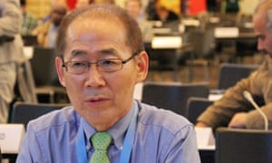 Hoesung Lee, new leader of the IPCC