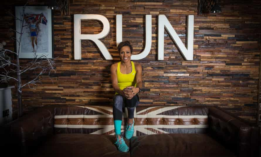 Dame Kelly Holmes: 'Running for charity is the biggest boost to focus that I could have at this time.'