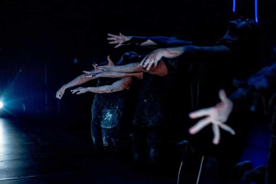 2020 dance work or Brisbane festival called Silence by Thomas E.S. Kelly of Karul Projects.