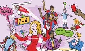 Illustration for Marina Hyde column
