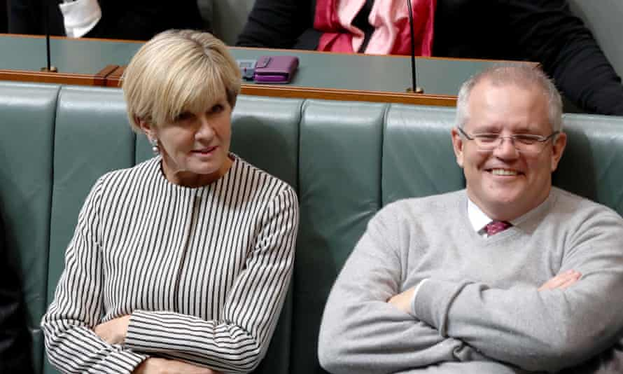 Julie Bishop was the first choice as Liberal leader among Coalition voters, ahead of Scott Morrison.
