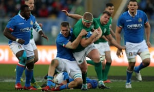 Ireland failed to impress during their victory in Rome