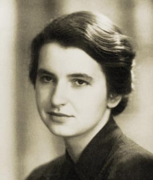Rosalind Franklin from a book by Pearson Education.