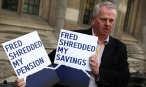 An angry shareholder outside the high court
