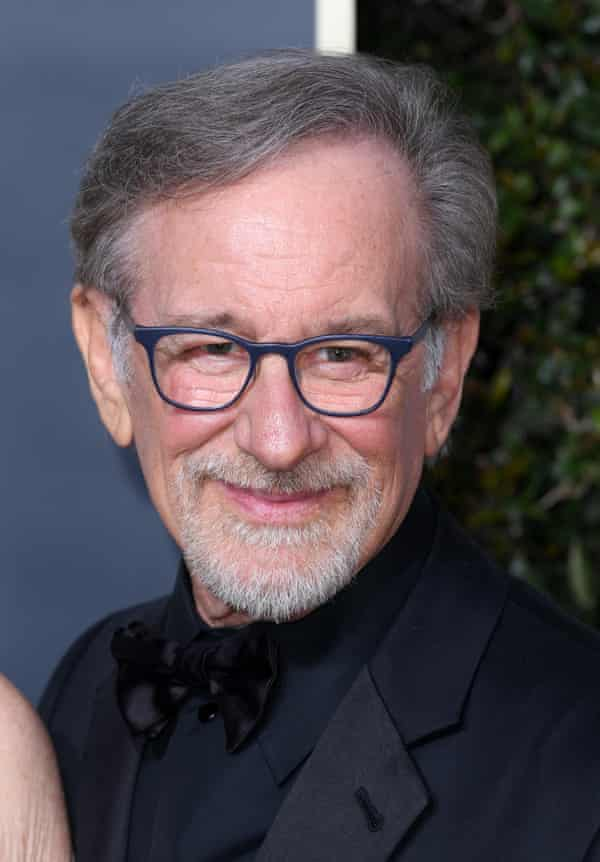 Steven Spielberg at this year's Golden Globes