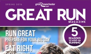 Great Run magazine: one of seven editions based on the events.