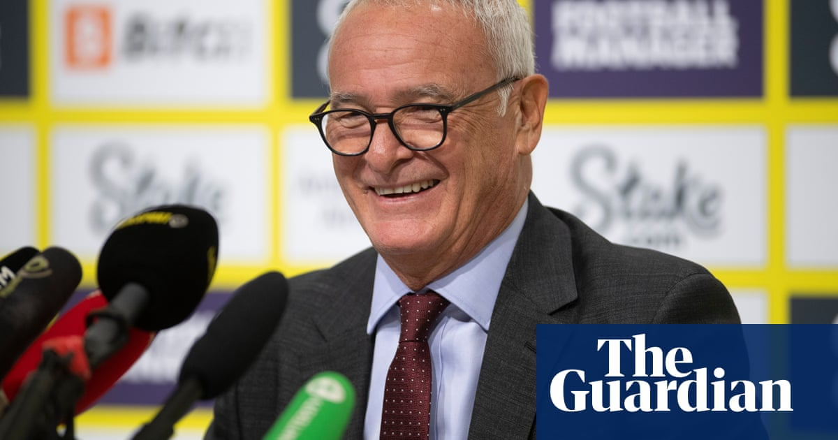 'I am strong, I am still young': Claudio Ranieri ready for Watford challenge
