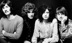 John Bonham, Robert Plant, Jimmy Page and John Paul Jones in 1969.