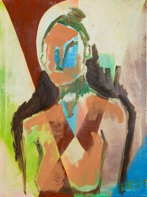 Self-portrait, Chrissie Hynde.