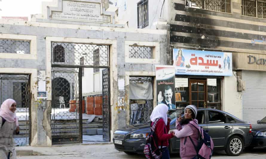Em al-Zinar church in the Old City