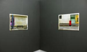 Artworks at Pape, inside Mirabel studioes
