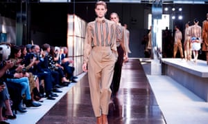 51ff379a755 Models present creations from the Burberry Spring Summer 2019 collection