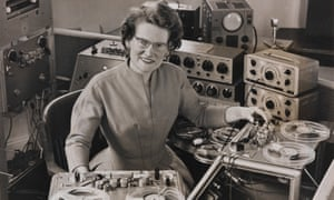 Reel time … composer and electronic musician Daphne Oram.