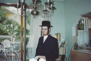 Shulem Deen aged 16, as a member of the Skverer Chasidim in New Square, New York.