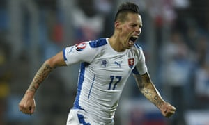 Napoli's brilliant playmaker Marek Hamsik, who has been given a free role by manager Jan Kozak, will be vital to Slovakia's hopes of progressing from Group B, also home to England and Wales.