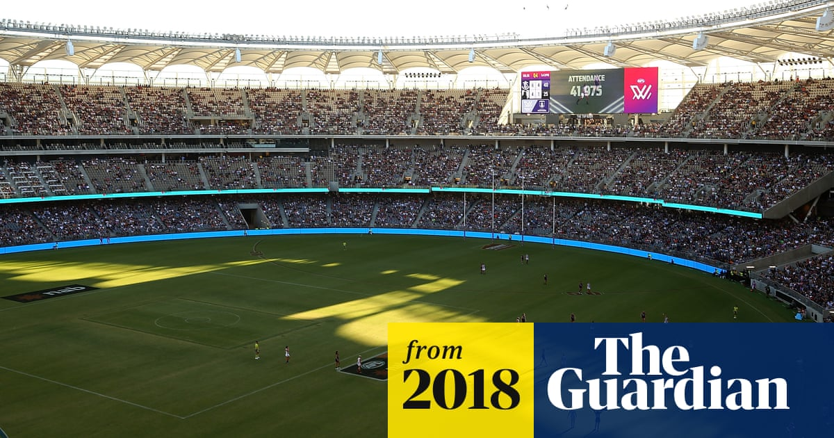 cfeb349e4 Record crowd for women s domestic sport game attend Perth AFLW match ...