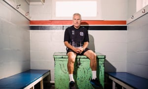 Peter Taylor: 'We give the players a breakfast, I think the maximum it costs for all the players is £30 a week. They bring their own stuff for lunches.'