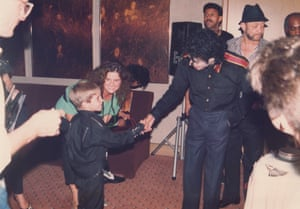 Wade Robson meets Michael Jackson for the first time in Leaving Neverland.