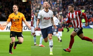 Wolves, Tottenham and Sheffield United are in with a shout of Champions League football next season.