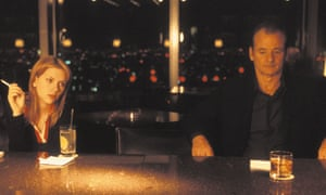 Sofia Coppola's Lost in Translation, starring Bill Murray and Scarlett Johansson, came in at 22 on the list.