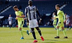 Mbaye Diagne was wasteful in front of goal for West Brom.