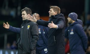 Rangers' Steven Gerrard saw his side's title hopes suffer a huge blow at Rugby Park for the second season in a row.
