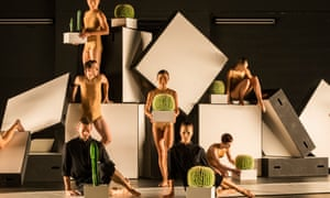 Sydney Dance Company in Cacti, by Alexander Ekman, 2016.