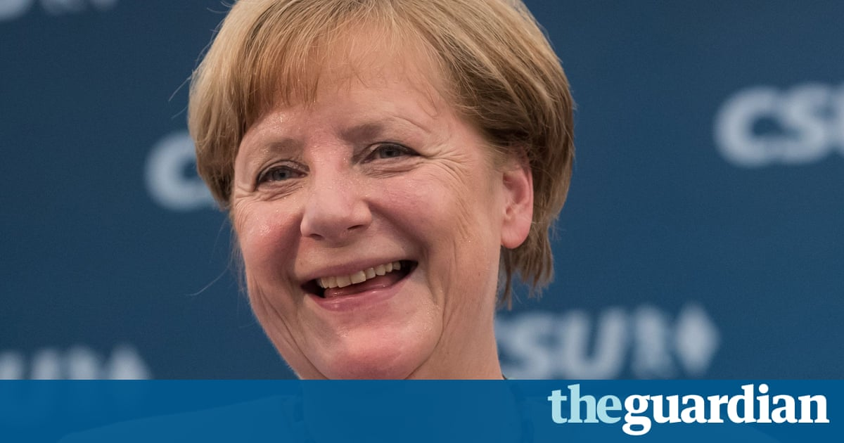 Angela Merkel: this is how the leader of the free world should act | Suzanne Moore