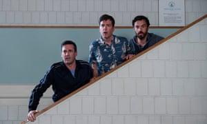 Jon Hamm, Ed Helms and Jake Johnson in Tag.