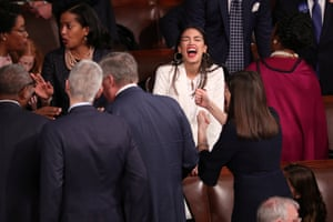 Washington: Alexandria Ocasio-Cortez, 29, the youngest person elected to Congress