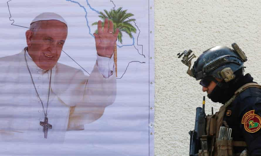 Pope Francis was quick to confirm that his visit would still be going ahead after the attack