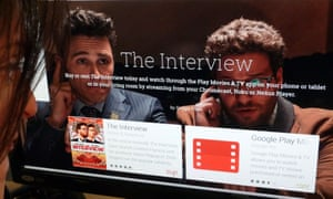 google play movies the interview