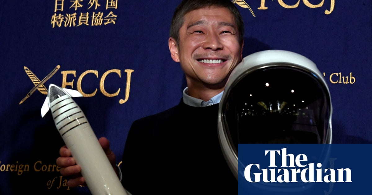 Japanese billionaire Yusaku Maezawa seeks 'special woman' for trip around moon