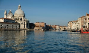 Clear water is seen in the canals of Venice due to fewer tourists and motorboats and less pollution, as the spread of the Covid-19 continues.