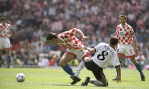 Davor Suker was one of few big-name players to excel at Euro 96.