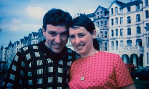 Christine with her late husband Ian on holiday in Douglas, Isle of Man, in 1969
