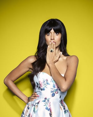 Jameela Jamil as Tahani in The Good Place