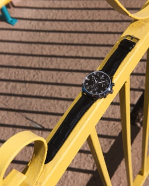 Black Visodate, £450, TissotA cult favourite among watch buffs