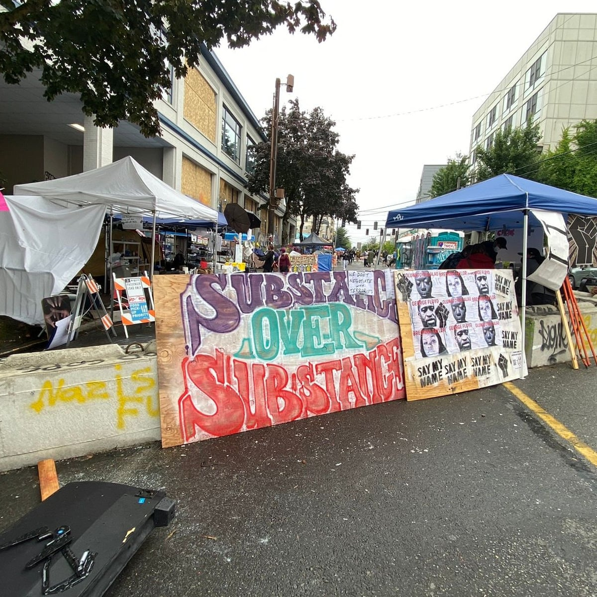 Seattle One Teen Killed And Another Injured In Shooting In Police Free Zone Seattle The Guardian