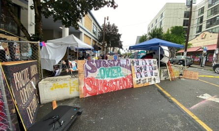 The Capitol Hill Occupied Zone, a six-block zone in Seattle's Capitol Hill District, has been occupied by protestors since 25 May.