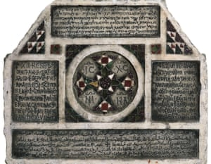 'The Normans sponsored the most liberal culture of the middle ages' … tombstone in four languages, Palermo, Sicily, AD1149.