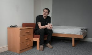 Darryl Lee-Jarman, who became homeless in 2017