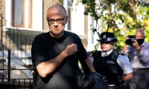 No 10 has previously said that it regards the matter of Dominic Cummings' lockdown travels as closed.