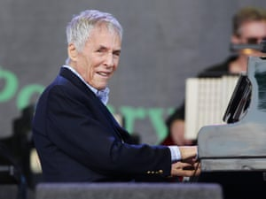 Burt Bacharach at Glastonbury.