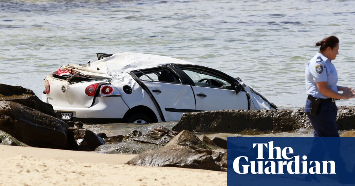 'Lucky to be alive': car plunges off cliff onto NSW beach hitting mother and baby – The Guardian