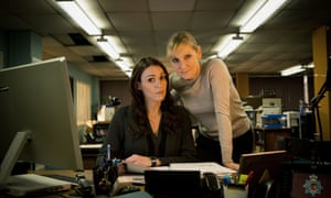 Lesley Sharp and Suranne Jones in Scott and Bailey.
